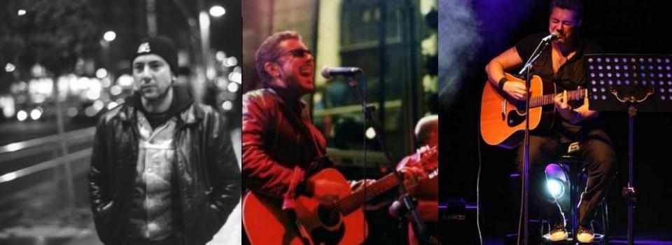 Cantantes de rock madrileños, cantautores de rock españoles